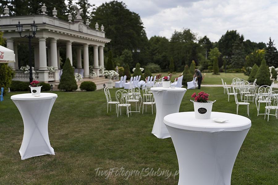 ceremonia w ogrodzie palacyku otrebusy AR 0020 - fotografowanie ślubów
