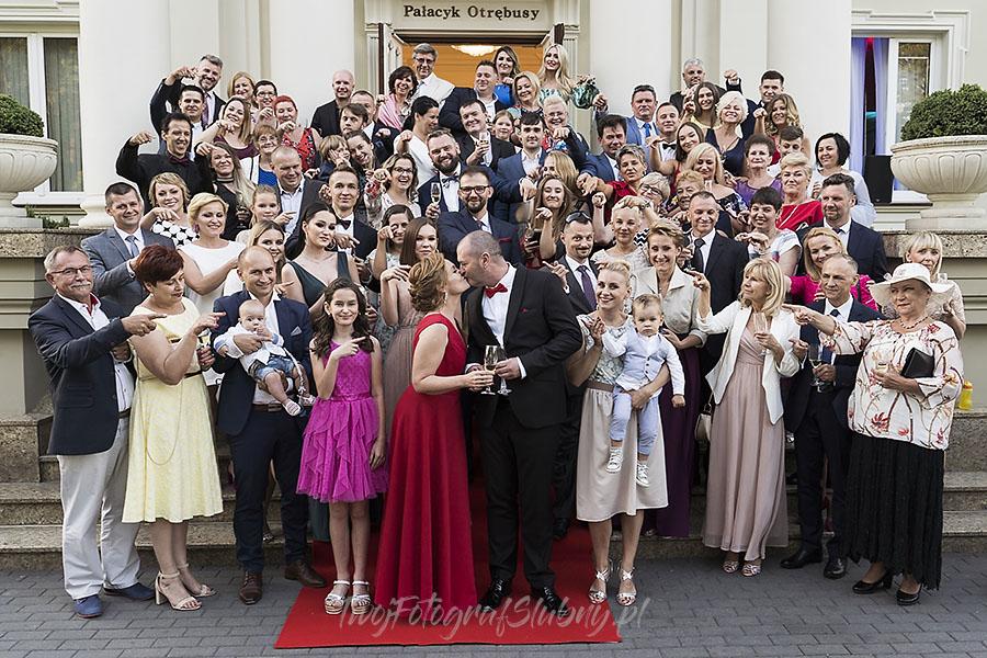 ceremonia w ogrodzie palacyku otrebusy AR 0691 - fotograf sesja ślubna