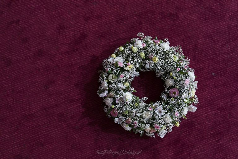 piekny bukiet ozdabiajacy sale weselna AP 0013
