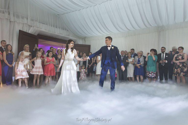 pierwszy taniec w chmurach ciezki dym KT 0679
