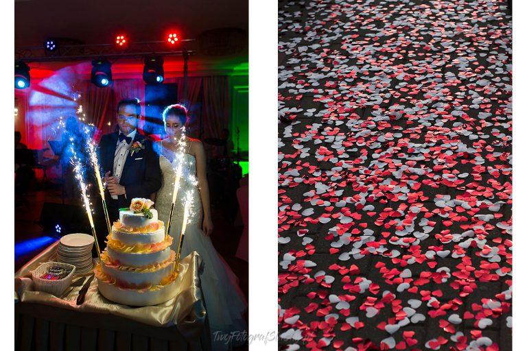 przyjecie wesele z tortem EW 0223
