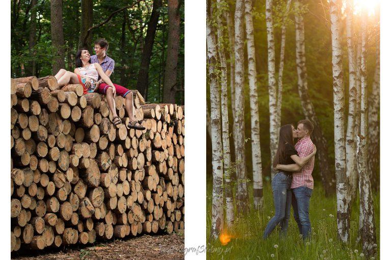 sesja narzeczenska w lesie MK 0236 1