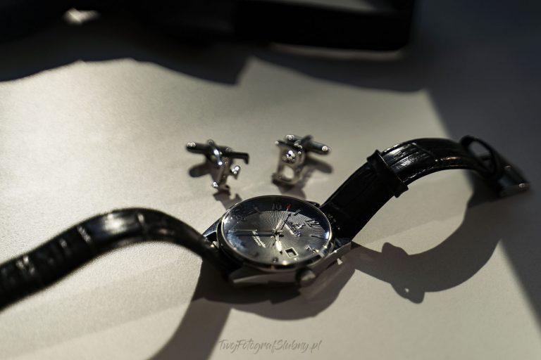 zegarek i spinki do mankietow WF 0307