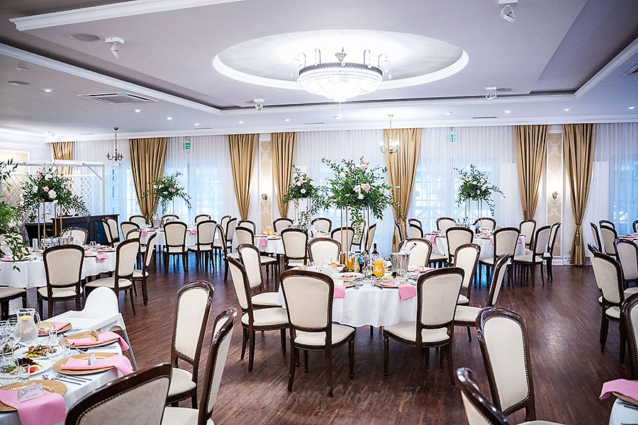 Sala weselna w hotelu Splendor