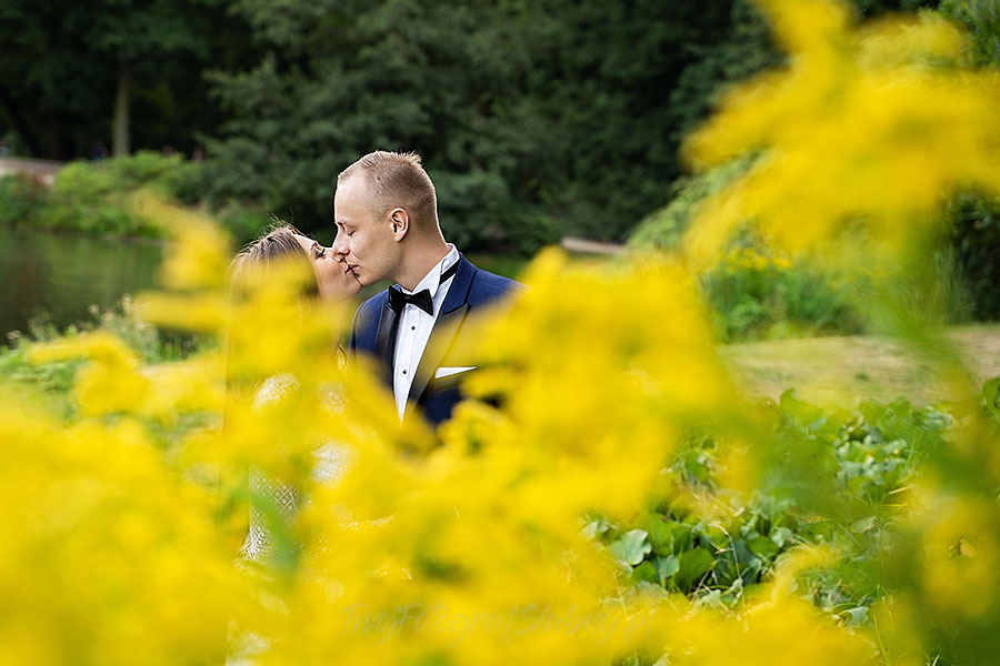 Zdjęcia ślubne w Łazienkach